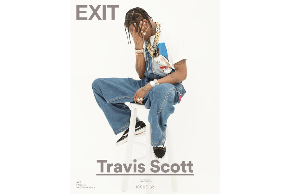 Travis Scott EXIT Magazine Editorial