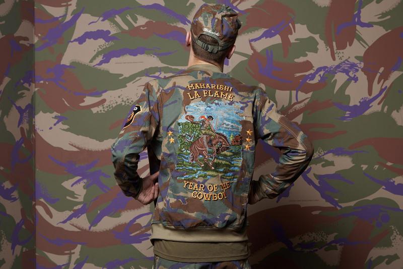 tracis scott x maharishi collection apparel rodeo
