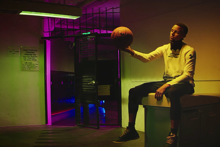 67faa1fa Stephen Curry Puts the Past Behind Him in New Under Armour Curry 3 Spot ·  Footwear