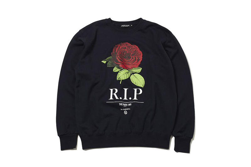 UNDERCOVER x THE PARK・ING GINZA Items floral graphics