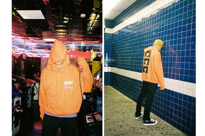 UZi C2H4 Capsule Collection gabe of uzi orange graphics