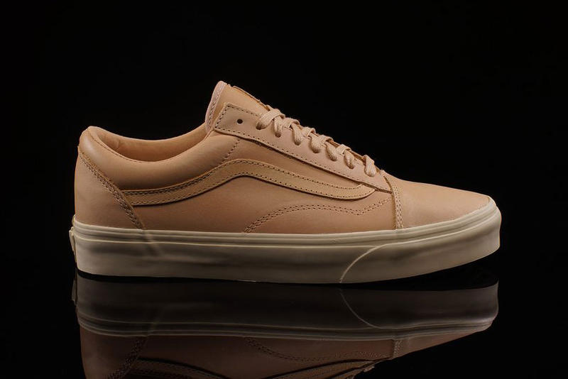 cfd47215d8ee Vans Old Skool Vachetta Tan leather