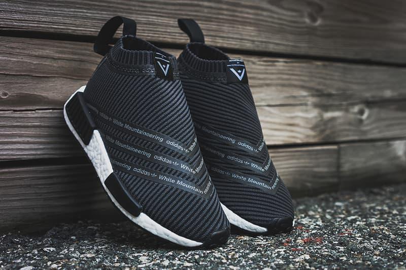 size 40 91630 c337c White Mountaineering x adidas NMD City Sock Black | HYPEBEAST