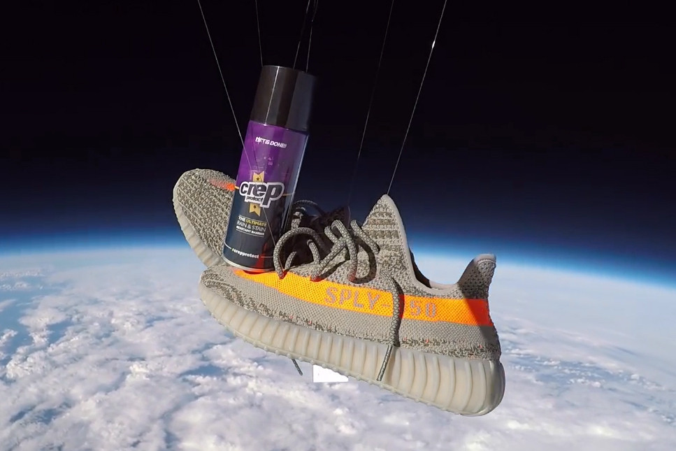 YEEZY 350 in Space Crep Protect Video