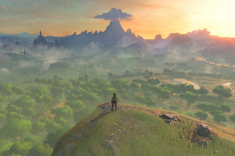 Legend of Zelda Breath of the Wild Switch Wii U Trailer Teaser Video Gameplay