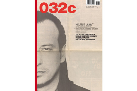 Helmut Lang, Willy Vanderperre & YEEZY Highlight '032c' Issue #31