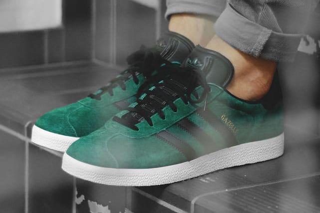 adidas Gazelle Collegiate Green   HYPEBEAST