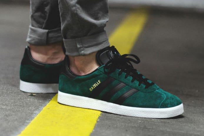 adidas Gazelle Collegiate Green | HYPEBEAST