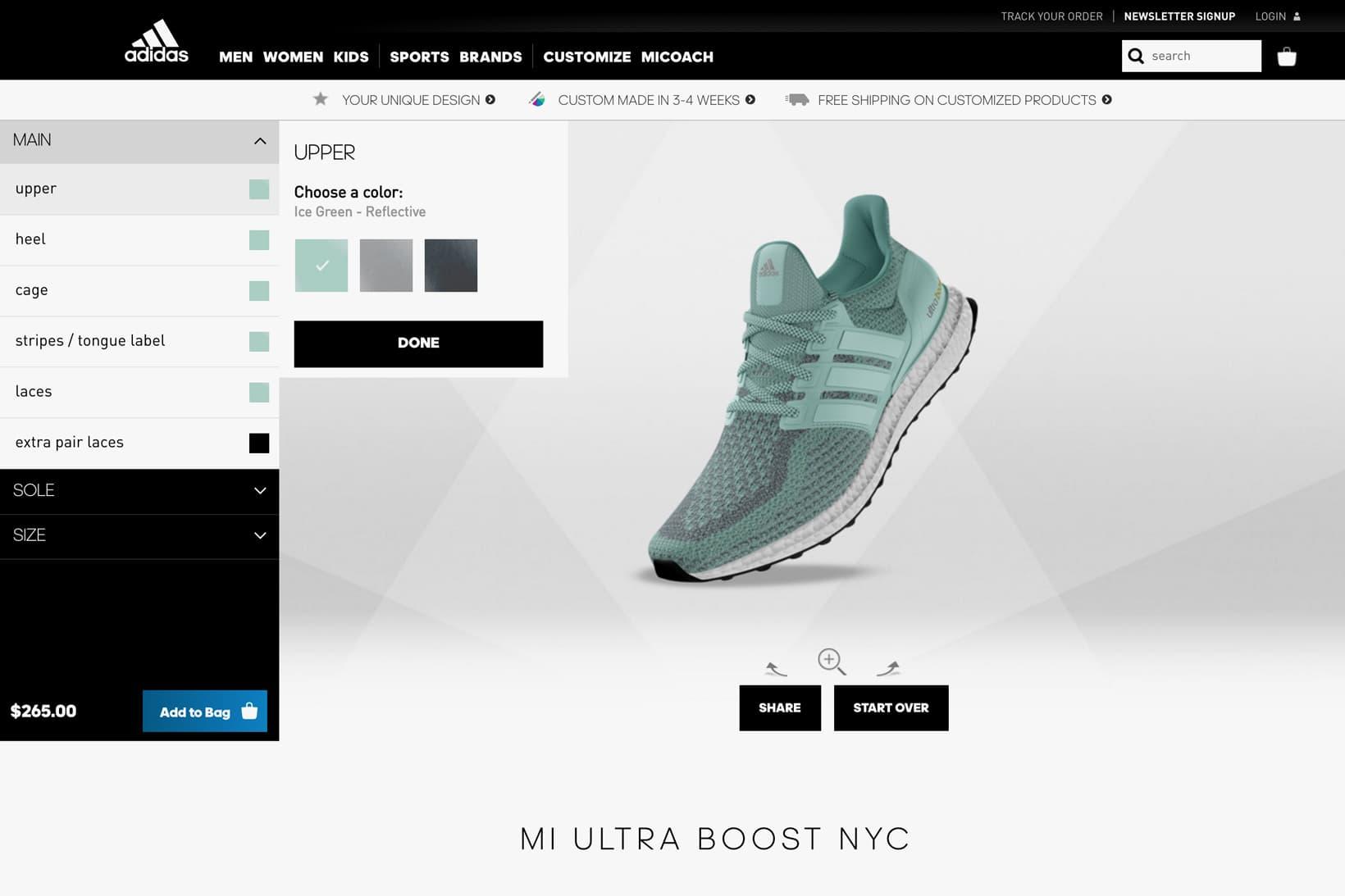 The adidas UltraBOOST Finally Gets mi adidas Customization Service