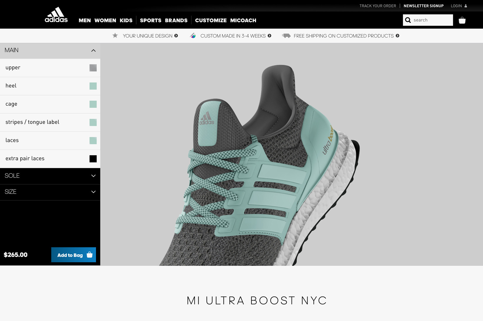 mi adidas UltraBOOST Sneak Preview for