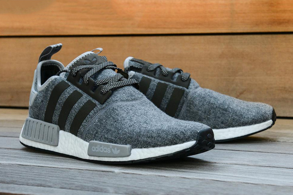 adidas NMD Gets A Winter Wool Pack