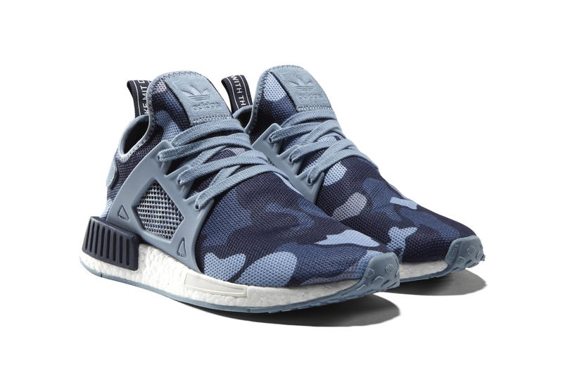 a862039149427 adidas Originals NMD XR1 Camo In Black, Blue, White, Pink