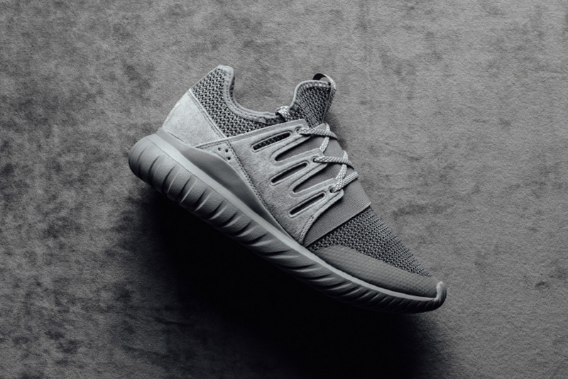 310cb9312768 adidas originals Tubular Radial Charcoal Solid Gray