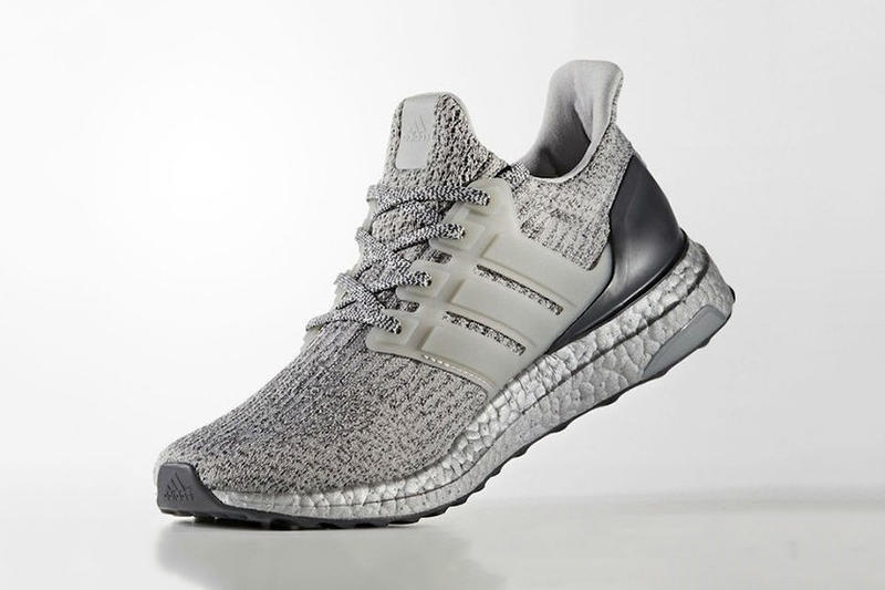03874ffaa adidas UltraBOOST 3.0 Silver Colorway Three Stripes BOOST Technology TPU  Cage