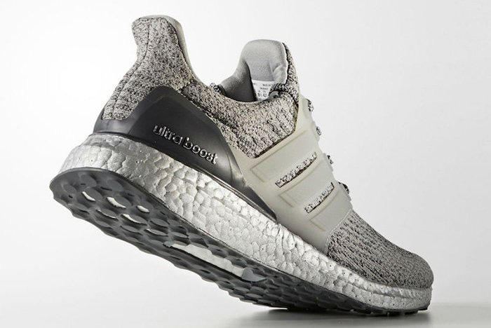adidas UltraBOOST 3.0 Silver Colorway Three Stripes BOOST Technology TPU Cage