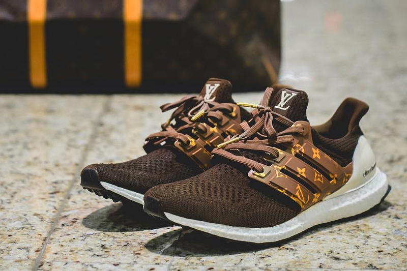 Adidas UltraBOOST Louis Vuitton Dent Kicks Custom