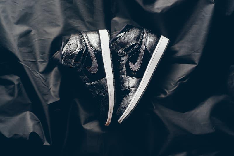 Air Jordan 1 Retro High Black Patent Leather