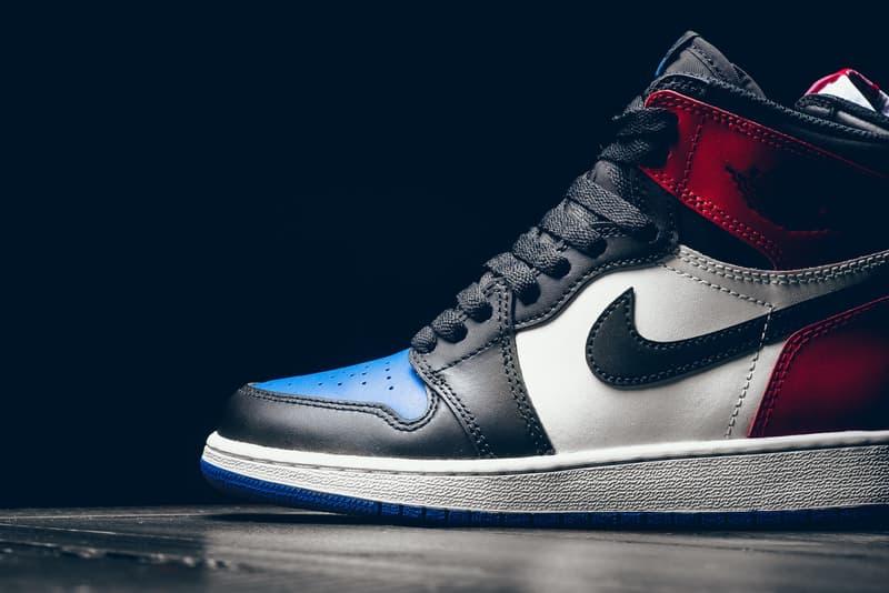 "Air Jordan 1 Retro High OG ""Top Three"" A Closer Look Nike Jordan Brand Michael Jordan"