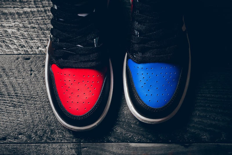 "Air Jordan 1 Retro High OG ""Top Three"" A Closer Look Nike Jordan Brand Michael Jordan"