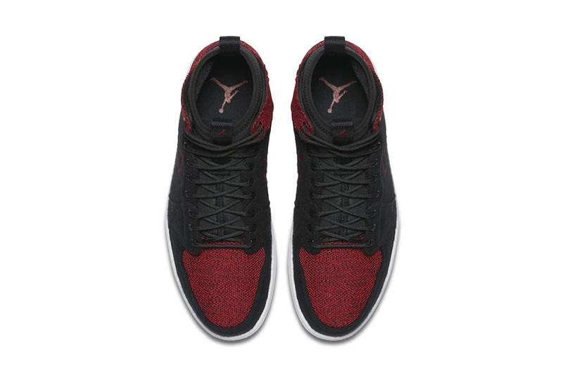 Air Jordan 1 Ultra High Banned black red