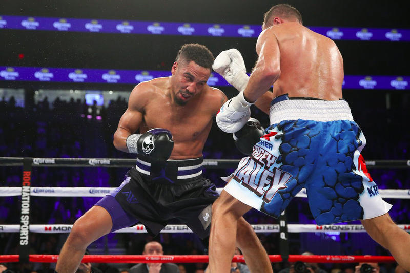 Andre Ward Is Crowned the Light-Heavyweight World Champion Boxing Los Vegas Sergey Kovalev