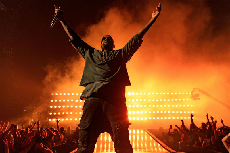 Kanye West and Ticketmaster Refund Attendees at Los Angeles Saint Pablo Show Shorted Show Tour Yeezy