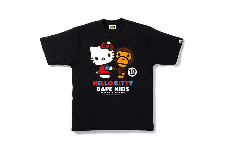 5a2a596665 BAPE KIDS Teams up With Hello Kitty and My Melody for 10th Anniversary  Collection