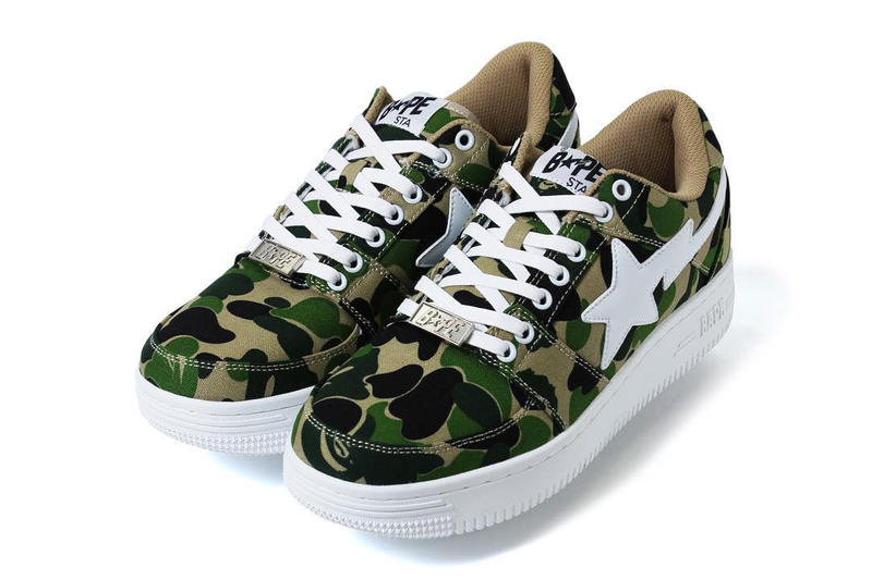 a6caf4df7963 ... BAPE Shark-Soled BAPESTAs 2016 Fall Winter A Bathing Ape Camo BAPE STA  MID BAPE ...