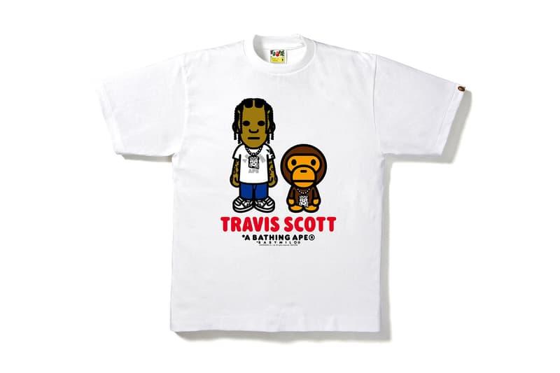 BAPE Kid Cudi Travis Scott Big Sean graphics baby milo