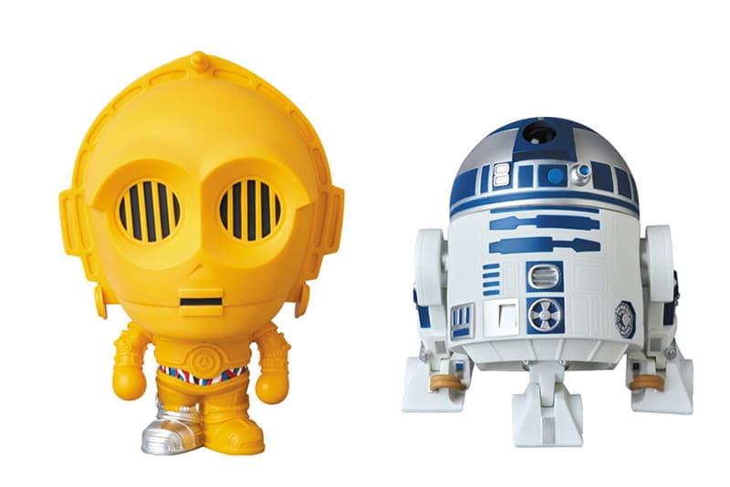 Star Wars x BAPE x Medicom Toy R2-D2 and C-3PO Figures  A Bathing Ape Baby Milo Androids Lucas Films