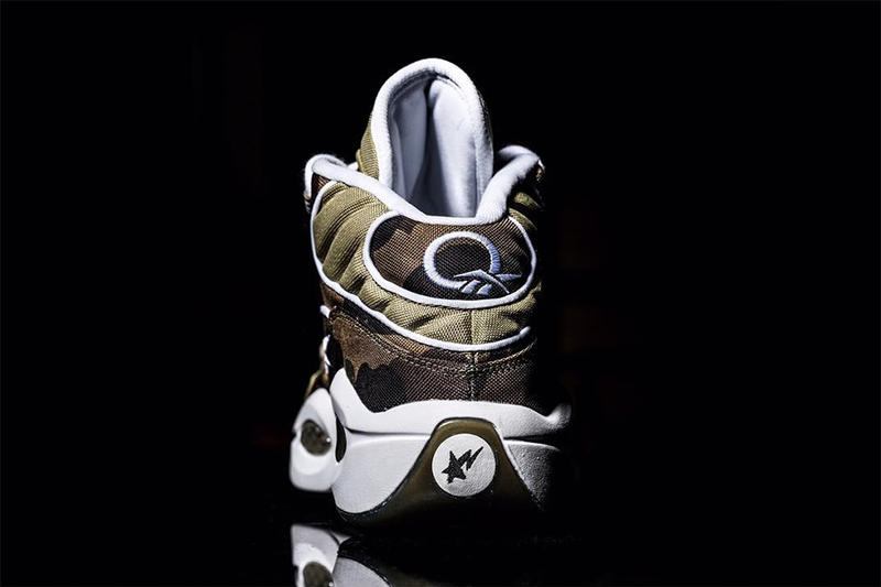 BAPE Reebok Question Camo Iverson