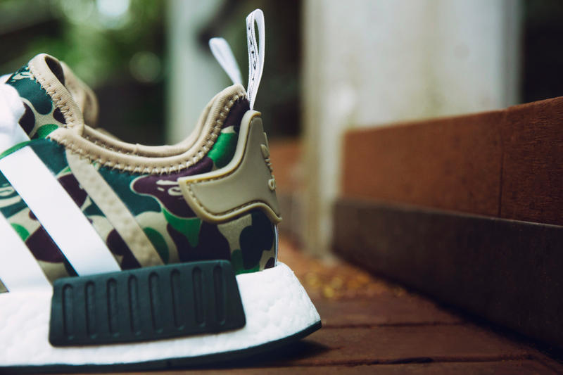 e7f9e74089c31 BAPE x adidas Originals NMD Closer Look | HYPEBEAST