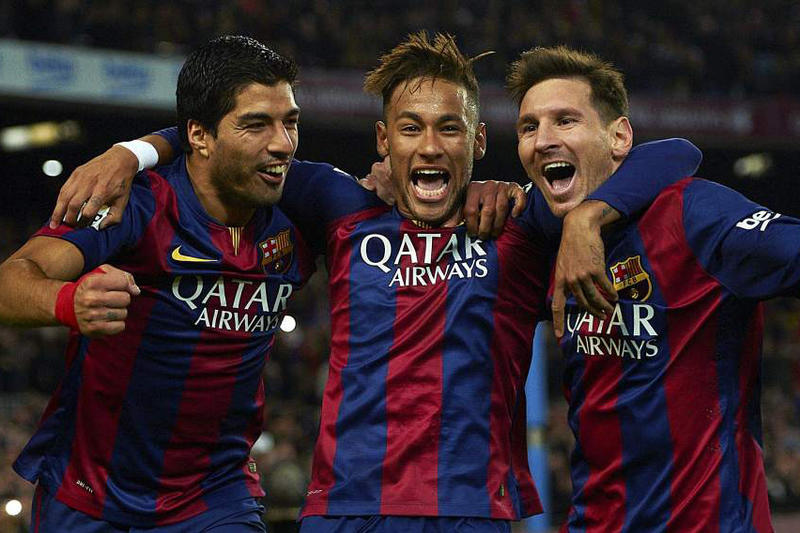 Barcelona Sign $235 Million USD Sponsorship Deal with Rakuten Lionel Messi Football Jerseys Qatar Airways