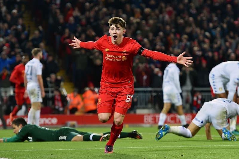 Ben Woodburn Becomes Liverpool's Youngest Ever Goalscorer Videos Football Soccer Leeds