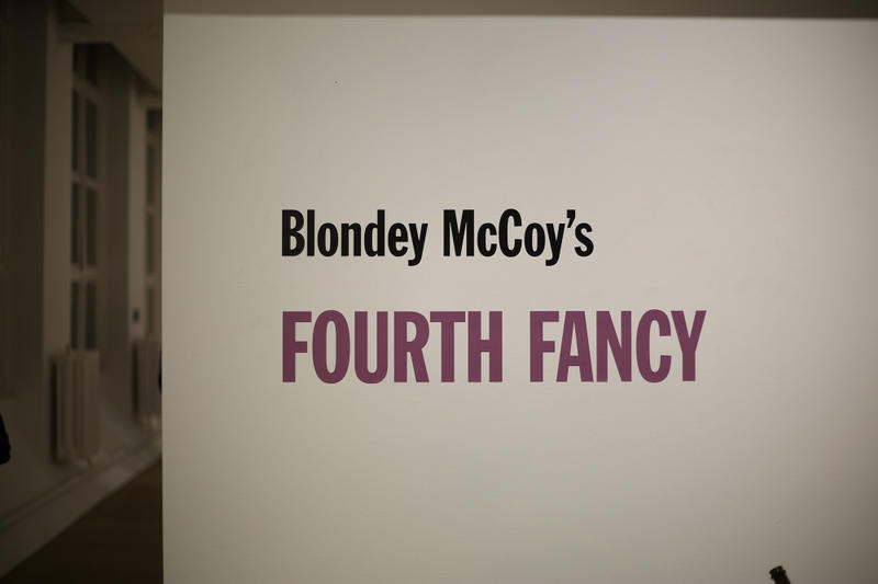 Blondey McCoy Fourth Fancy Art Exhibition Gallery Images