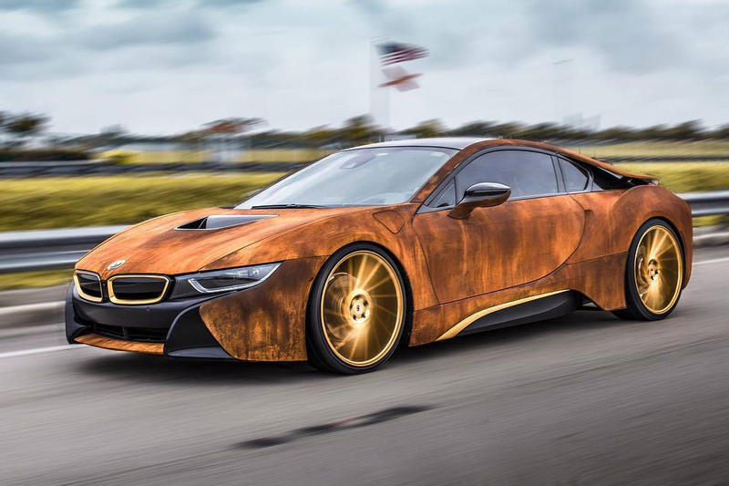 Bmw I8 Rust Wrap Custom Car Hypebeast