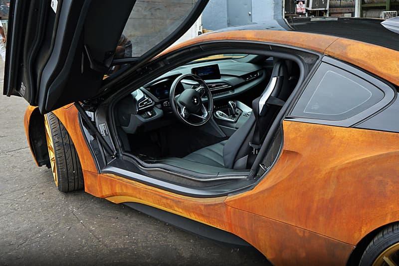 BMW i8 Rust Wrap Custom Car