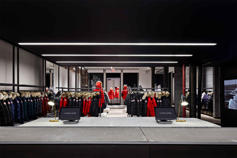 Canada Goose Launches Flagship Store in NYC SoHo Down Jackets Winter Warm Cozy Toronto