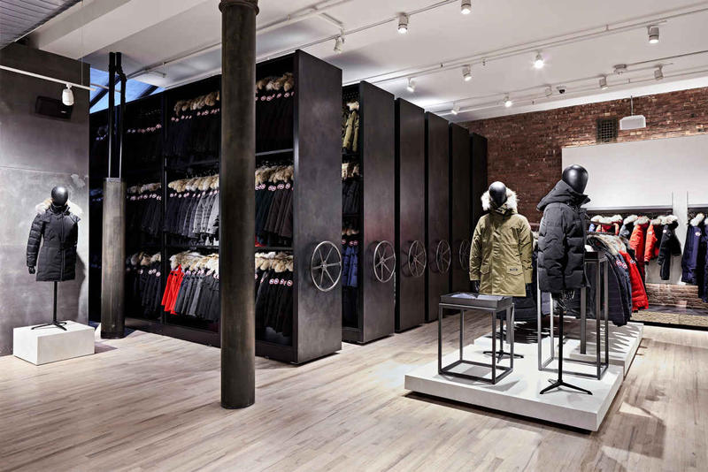 Canada Goose Launches Flagship Store in NYC SoHo Down Jackets Winter Warm  Cozy Toronto fc193f2bf
