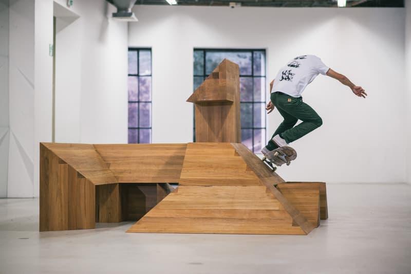Carhartt WIP ISLE Skateboards Raphael Zarka Paving Space