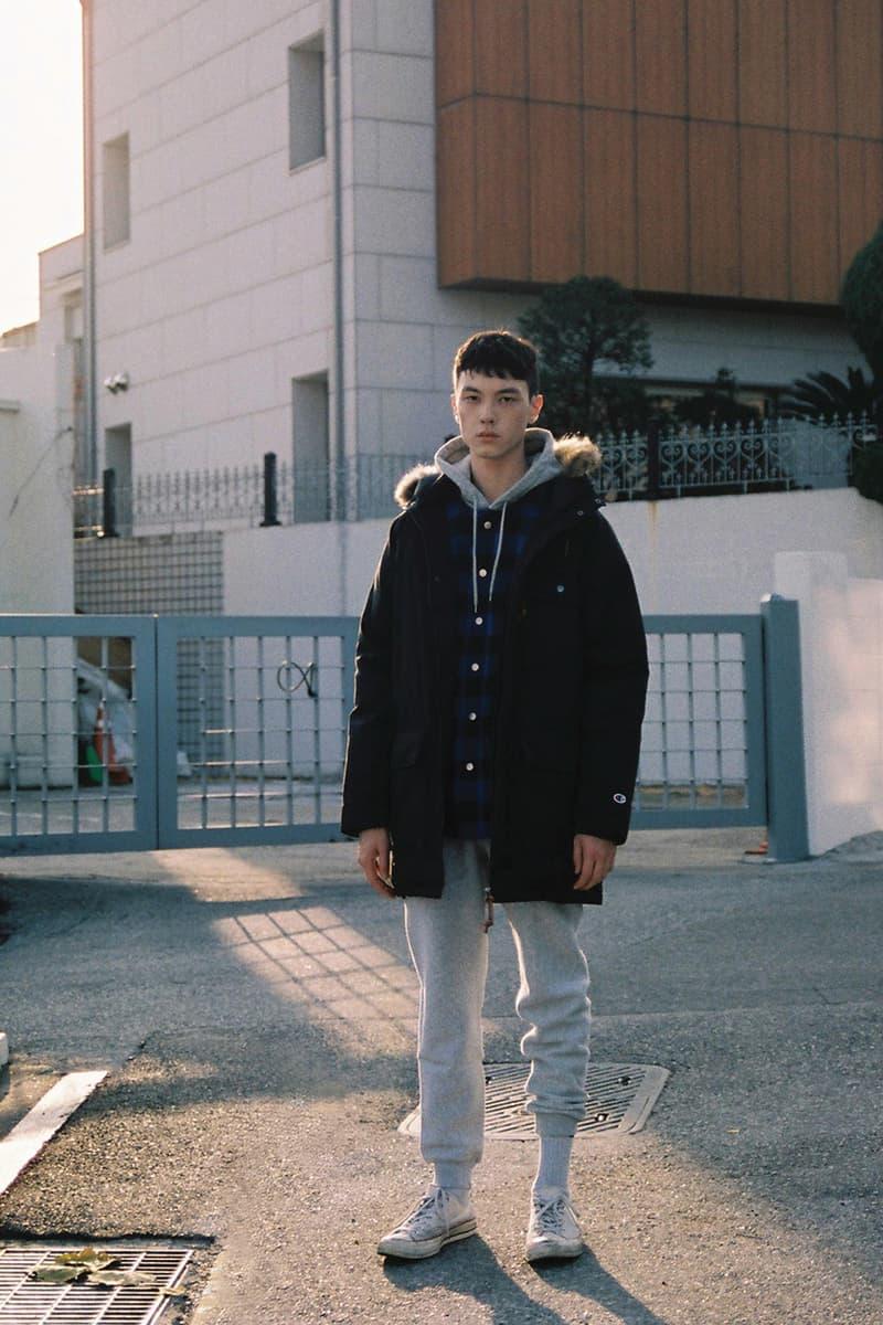 1f9e21d2de17 Champion Japan 2016 Fall Winter Editorial