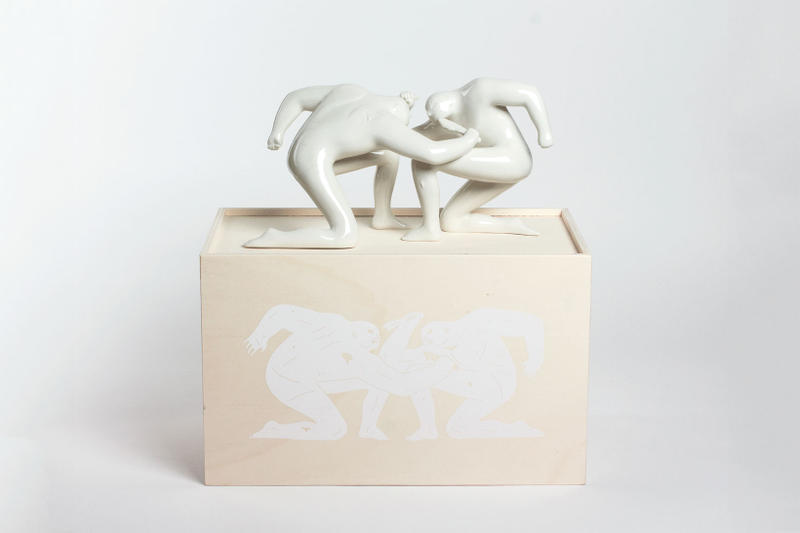 Cleon Peterson Case Studyo Balance of Power Sculpture Edition