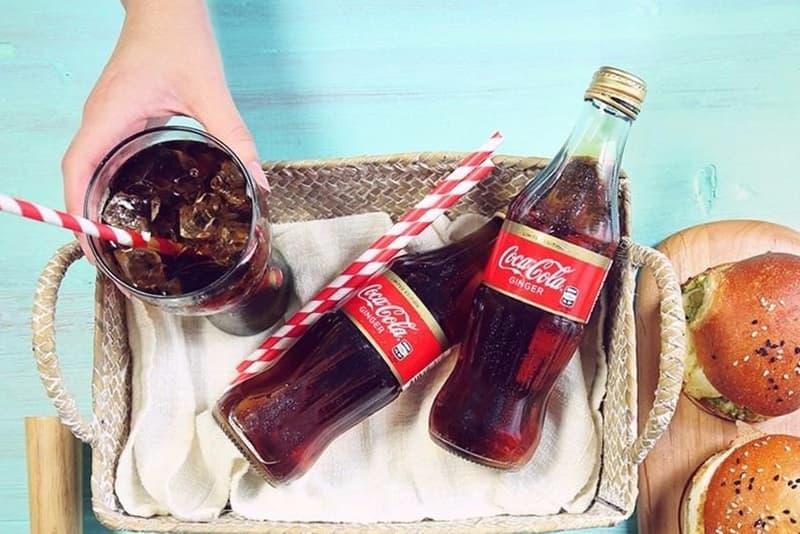 Coca Cola Ginger Flavor Coke Limited Edition Beverage Australia New Zealand Vanilla Black Cherry
