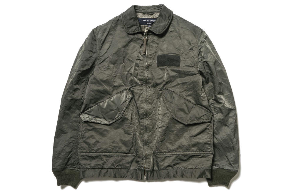 COMME des GARÇONS Homme Release a Range of Winter-Ready Military Jackets