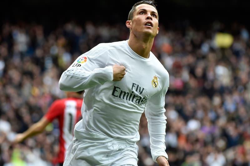Cristiano Ronaldo Real Madrid goal score football soccer kit