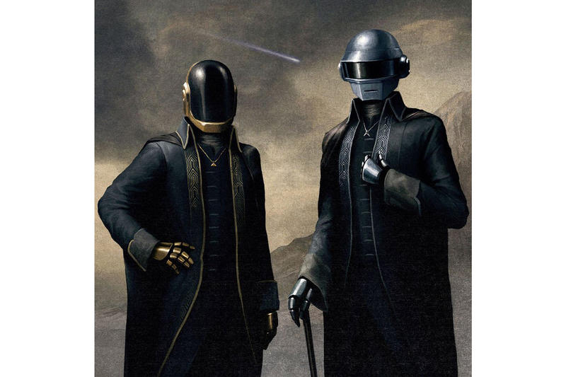 Daft Punk Portrait Painting The Weeknd Starboy Video