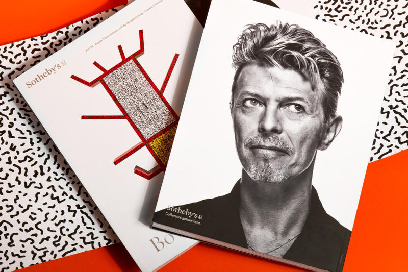 Take a Look at David Bowie's Most Prized Memphis Design Pieces