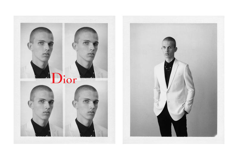 Dior Homme Spring Summer 2017 Black Carpet Lookbook