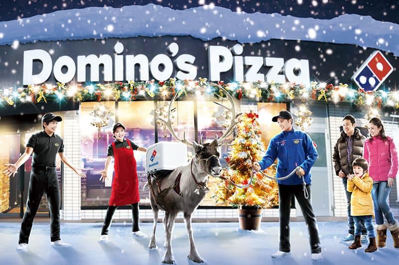 Dominos Delivery Reindeer