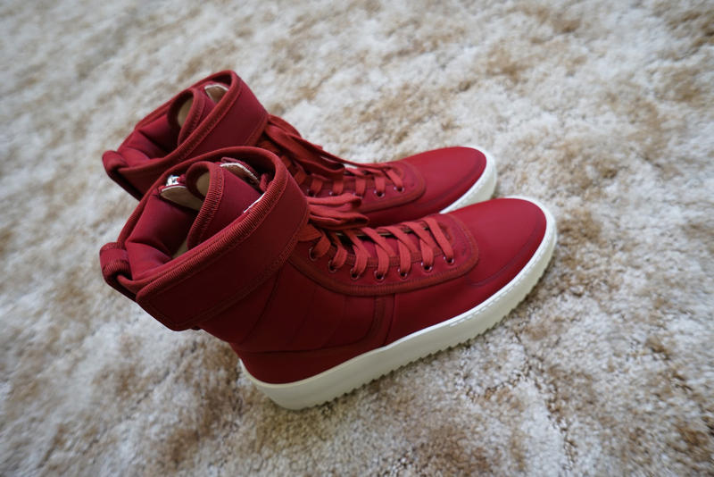 Fear of God KITH and 424 Military Sneaker